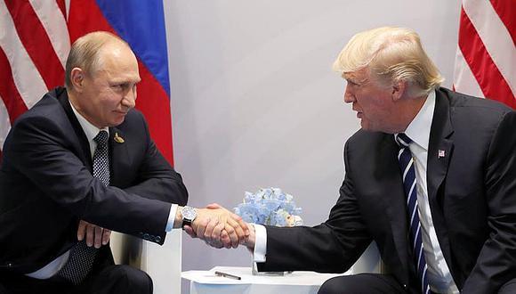 Trump y Putin se reúnen por primera vez en el marco de la cumbre de G20