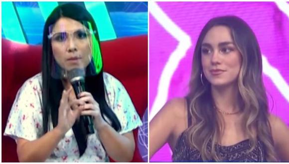 Tula Rodríguez y el duro comentario para Luana Barrón tras olvido en reto de TikTok. (Fotos: América TV)