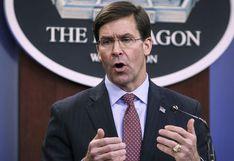 Estados Unidos: el Pentágono estima que crisis por coronavirus puede durar unos tres meses