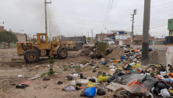 Lambayeque: Recogen 900 toneladas de basura en Chiclayo tras llegada de Año Nuevo (Foto: Gobierno Regional de Lambayeque)