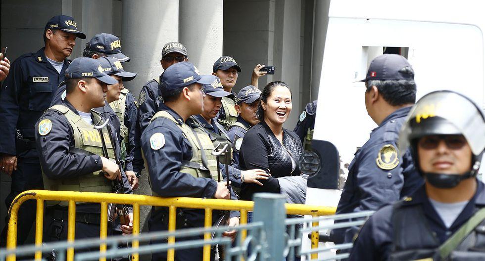 Keiko Fujimori cumplió 100 días recluida en el Penal Anexo de Chorrillos