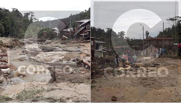 Huaico en Junín: una niña de seis años muere y cinco quedan heridos en Alto Pichanaki (FOTOS)