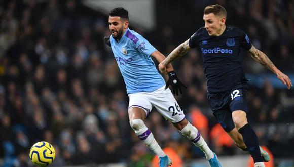 Manchester City y Everton iban a jugar este lunes en Goodison Park. (Foto: AFP)