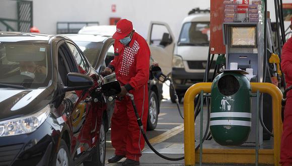Repsol y Petroperú incrementaron los precios de los combustibles desde el último jueves 9 de setiembre. (Foto: Eduardo Cavero / GEC)