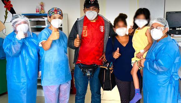 Piura: menor de 5 años que ingresó al hospital con insuficiencia respiratoria venció al COVID-19 (Foto: Hospital de la Amistad Perú - Corea Santa Rosa II2)