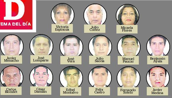 15 prófugos por corrupción en el Programa de Recompensas
