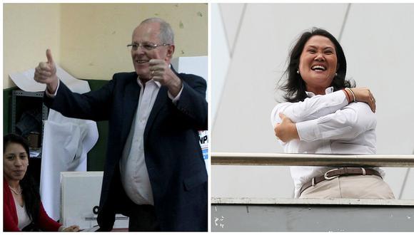 Conteo rápido mantiene empate técnico entre Kuczynski y Keiko Fujimori