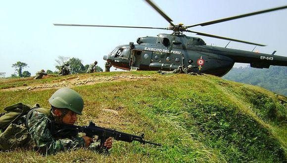 Vraem: tres soldados heridos deja hostigamiento de narcoterroristas