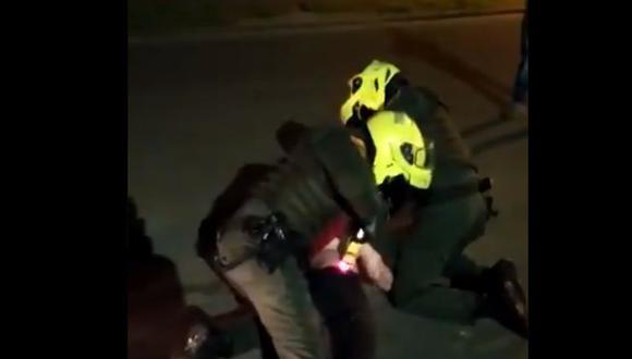 Javier Ordóñez   murió por brutalidad policial la semana pasada en Bogotá. (Foto: Captura de video).
