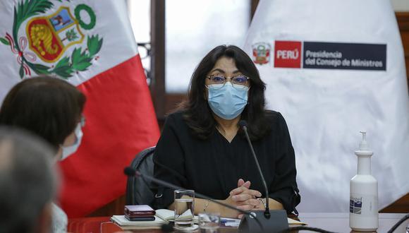 Titular de la PCM presidirá sesión la conferencia de prensa. (Foto: GEC)