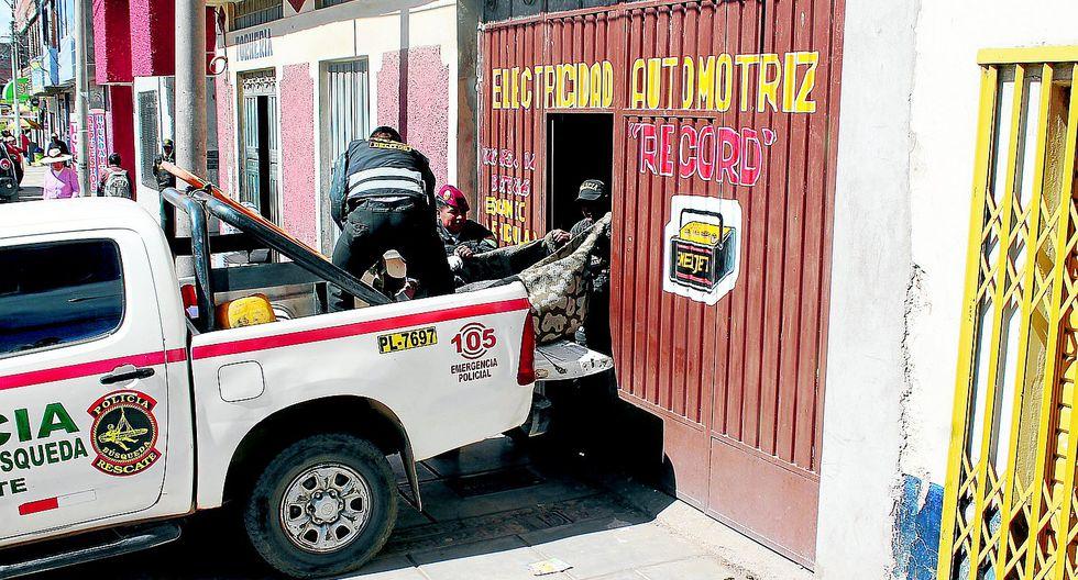 Electricista se atraganta después de haber libado durante varios días
