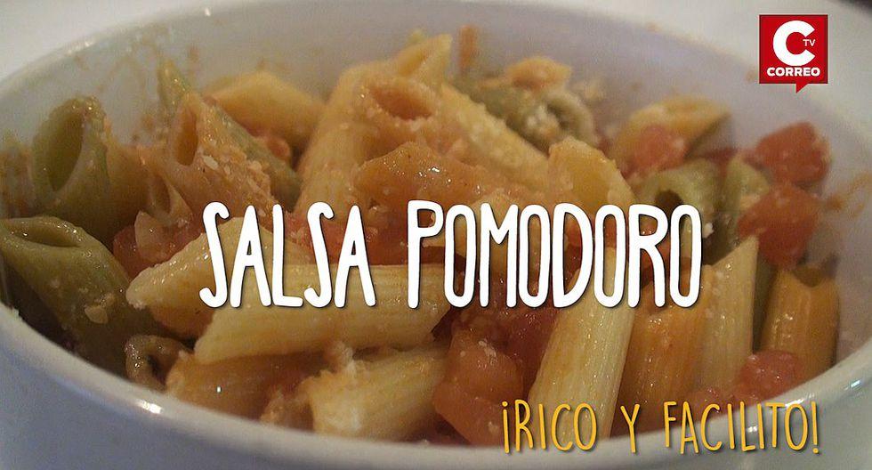 Rico y facilito: En unos cuantos pasos disfruta de esta Salsa Pomodoro (VIDEO)