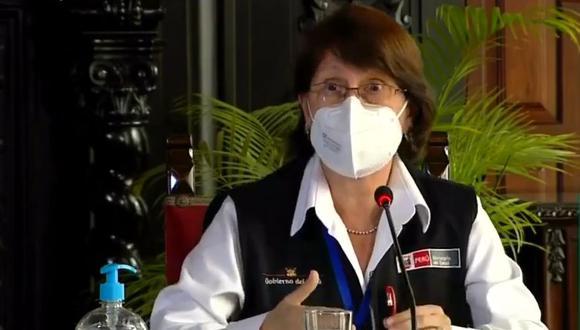 Según Óscar Ugarte, titular de Salud, tanto Francisco Sagasti como Violeta Bermúdez tuvieron conocimiento anoche de los funcionarios vacunados contra la COVID-19.