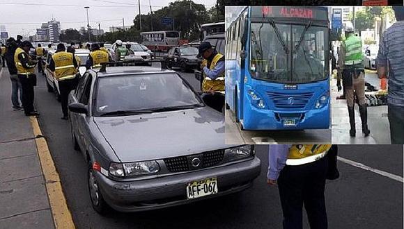 Transporte en Lima: Aplicarán fotopapeletas a colectivos que compitan con buses de corredores viales