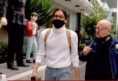 """Beto Ortiz encaró a usuario que lo insultó en Twitter: """"Sí, yo me bajé la mascarilla adrede"""" (VIDEO)"""
