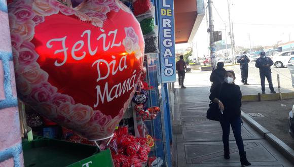 La campaña por el Día de la madre ha sido negativa para el sector comercial de Tacna. (Adrian Apaza)