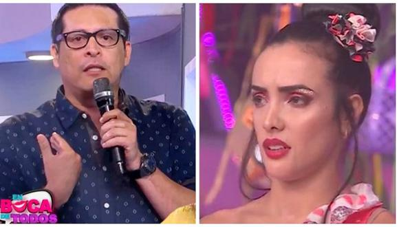 """Carloncho es separado de """"En boca de todos"""" tras comentarios sobre Rosángela Espinoza. (Foto: Captura América TV)"""