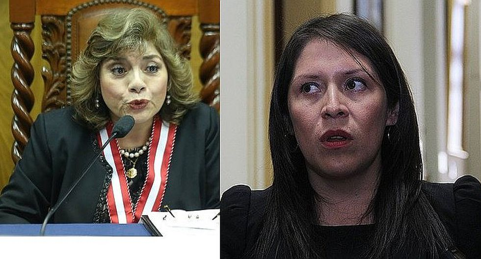 Yeni Vilcatoma presenta denuncia constitucional contra fiscal Zoraida Ávalos
