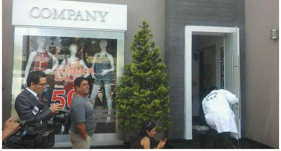 Magdalena: frustran robo en tienda exclusiva de ropa (VIDEO)