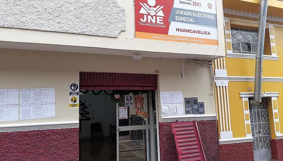 Presidente del JEE Huancavelica responde a observaciones de Contraloría