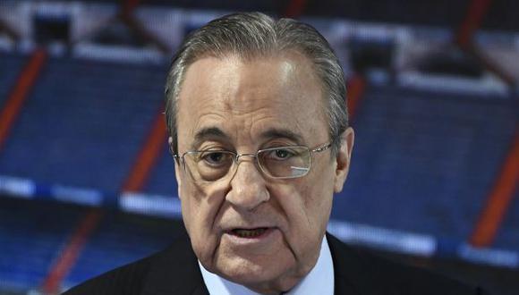 Florentino Pérez tiene más de 17 años como presidente de Real Madrid. (Foto: AFP)
