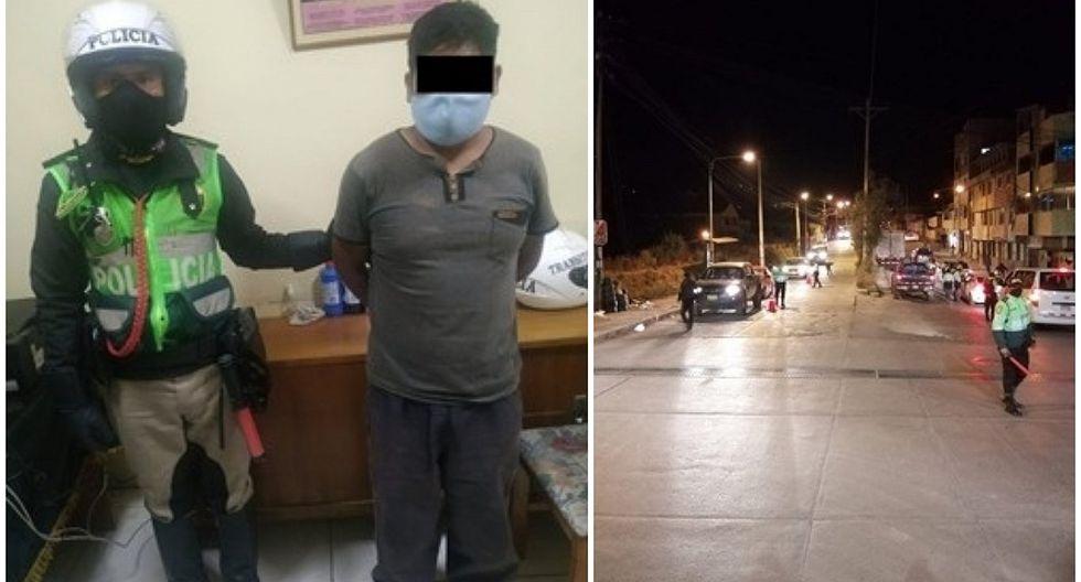 Conductor se arroja a río para evitar detención, finalmente fue atrapado en Cusco