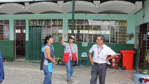 Colegios de Tacna recibieron 2.4 millones de soles para mantenimiento
