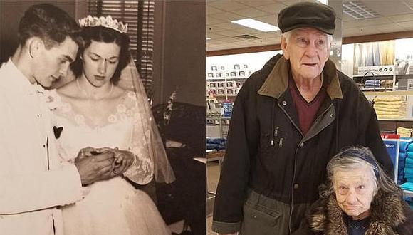 Marido vuelve a pedirle matrimonio a su esposa después de 63 años de matrimonio (VIDEO)