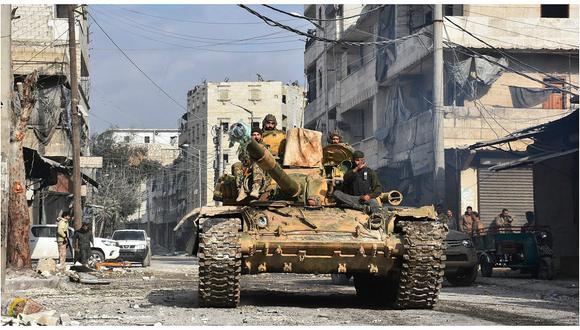 Siria: El ejército anuncia que ha conquistado el 98 % del este de Alepo
