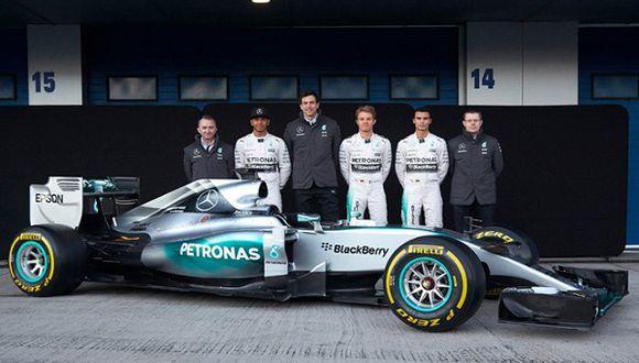 Mercedes celebrará triunfos del año a lo grande