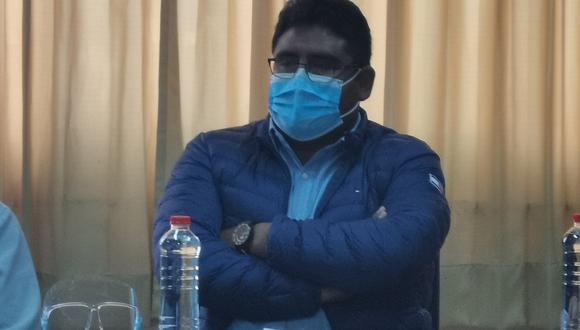 Francisco Ramos, representante de los colegios profesionales de Tacna. (Foto: Correo)