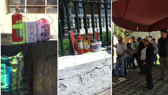 Taxistas alquilan extintores y botiquines solo para obtener Setare