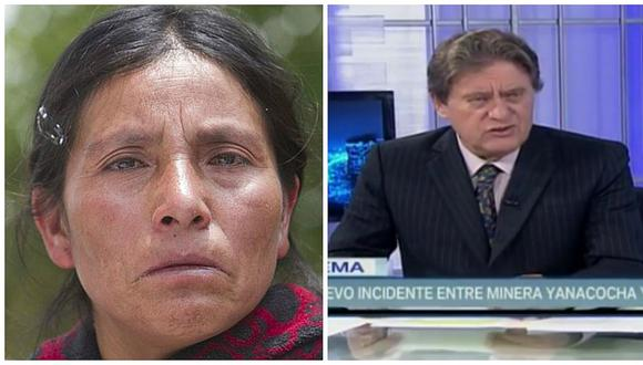 Máxima Acuña: Jaime de Althaus dice que agresión contra campesina es estrategia de mentira (VIDEO)