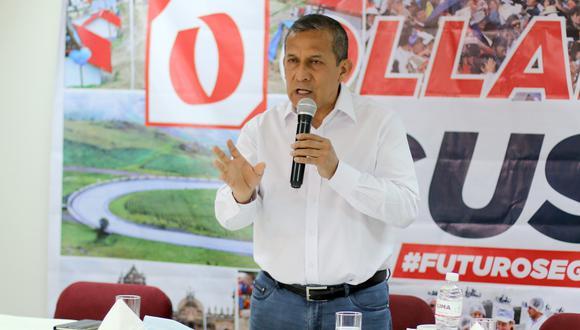 Ollanta Humala fue uno de los dos participantes en la tercera y última fecha del debate presidencial organizado por San Marcos. (Foto: GEC)