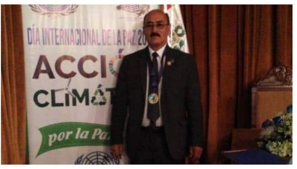También fue dirigente y exteniente gobernador del distrito de La Esperanza. (Foto: Facebook)