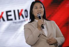 """Keiko Fujimori insiste en un """"fraude en mesa"""" y participará en marcha convocada para hoy"""