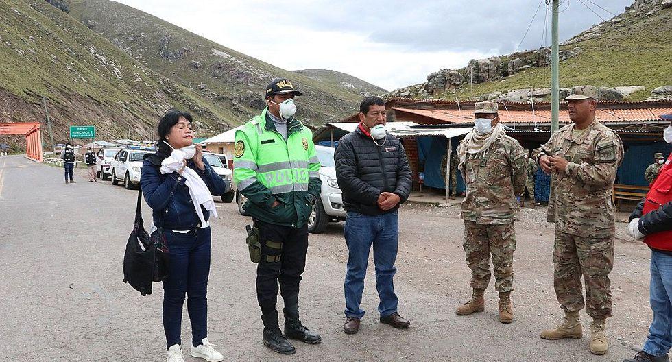 Cierran puente que une a Huancavelica y Ayacucho