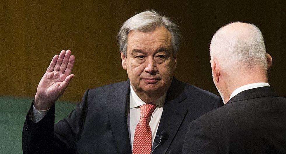"""Antonio Guterres: """"la ONU debe prepararse para cambiar"""""""