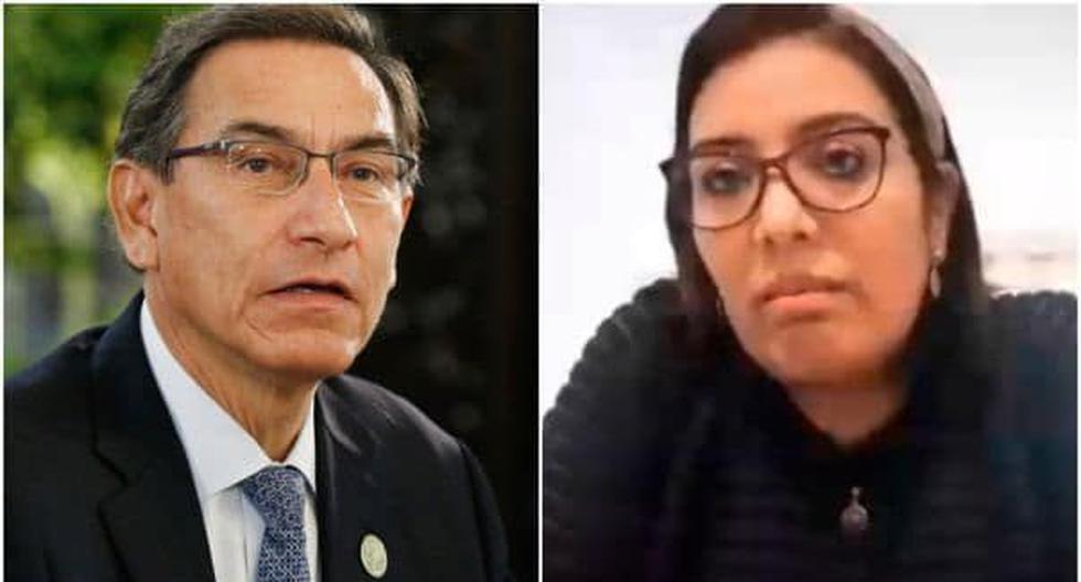 """Karem Roca revela en nuevo audio que Martín Vizcarra tiene un operador en Quellaveco: """"Eso ya es un delito"""" (VIDEO)"""