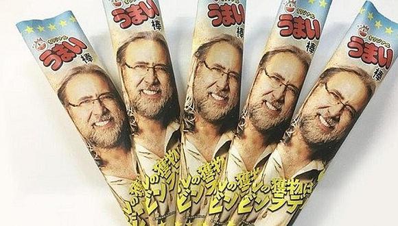 Nicolas Cage: su rostro aparece en snack japonés y actor no estaría nada contento