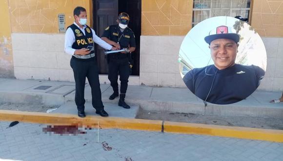 El crimen ocurrió a las 8:30 de la mañana de hoy. La Policía llegó hasta el lugar para recoger evidencias. (Foto: PNP)