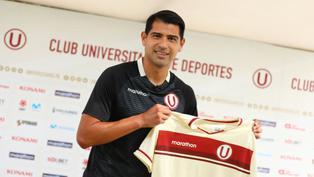 Universitario de Deportes presentó a su nuevo delantero