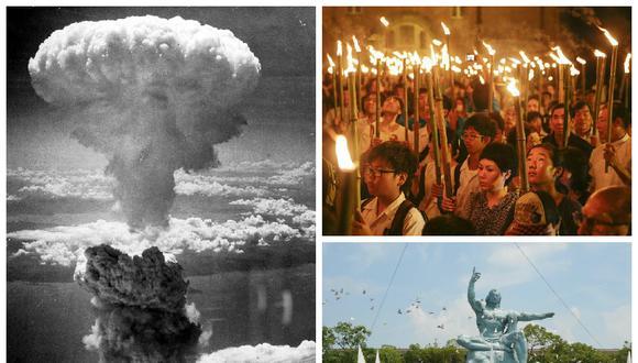 Nagasaki recuerda la segunda bomba atómica, hace 70 años
