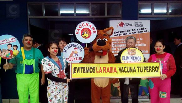 Inmunizarán contra la rabia a 27,842 perros