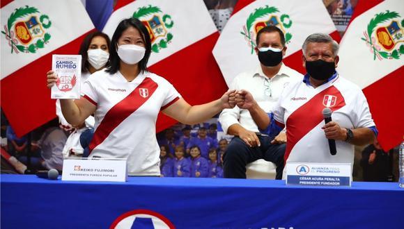 """Excandidato presidencial por APP indicó que recorrerá el país """"por los peruanos"""" y que no tiene """"intereses personales"""" en estas acciones."""