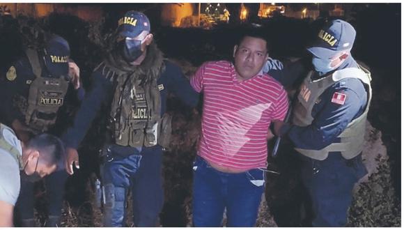Hjalmar Morocho Carche había adquirido dos pistolas en el Callao y las iba a entregar en Ecuador.