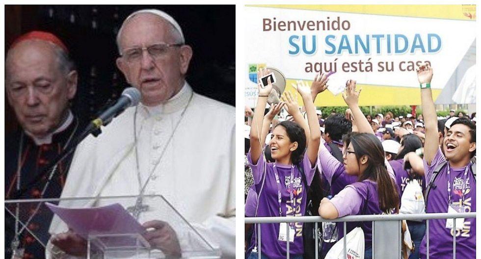 """Papa Francisco a jóvenes peruanos: """"El corazón no se puede 'photoshopear'"""""""