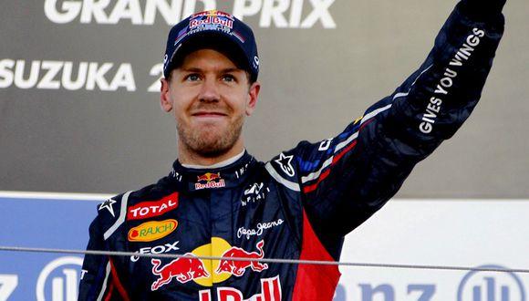Sebastian Vettel se queda con el Gran Premio de Japón