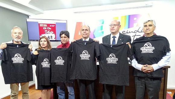 """Alistan campaña del """"Día sin auto""""  en Arequipa"""