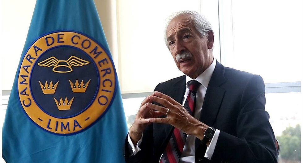 César Peñaranda, director ejecutivo del IEDEP de la CCL